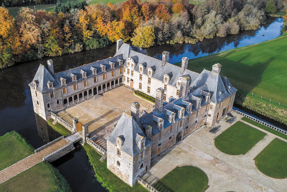 Le château du Rocher Portail à Maen Roch