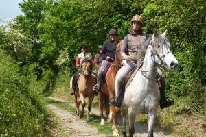 Balade équestre - Les Sabots de Villecartier