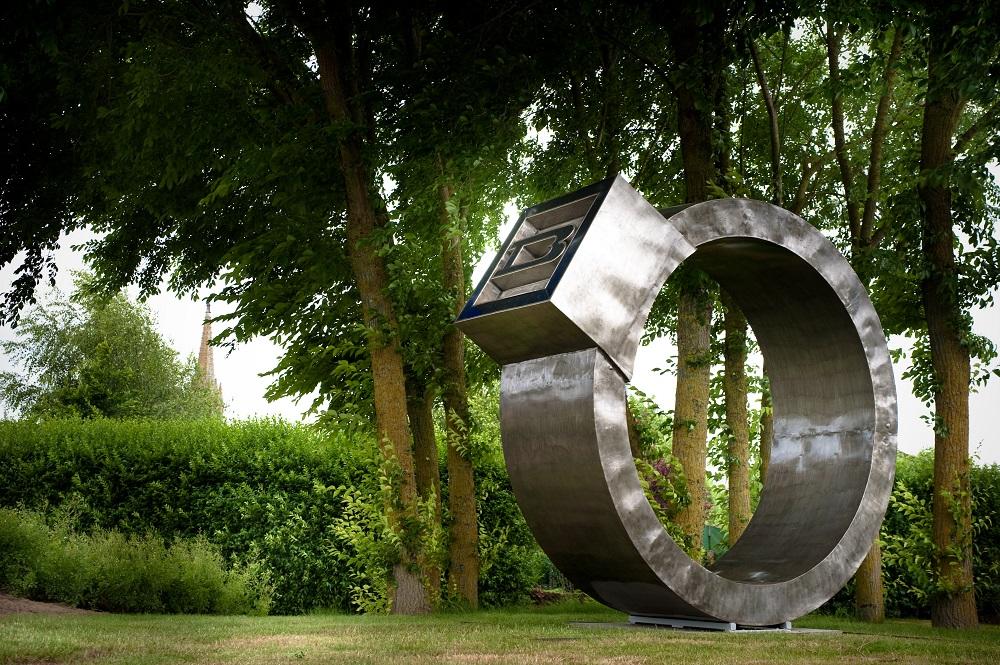Bazouges-la-Pérouse - Sculpture au Parc de Bellevue