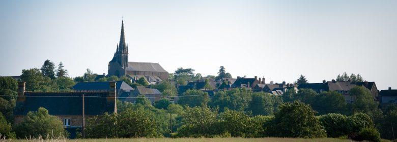 Bazouges-la-Pérouse - Vue sur le bourg
