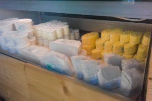 Fromage, crème et beurre © GAEC des Domaines