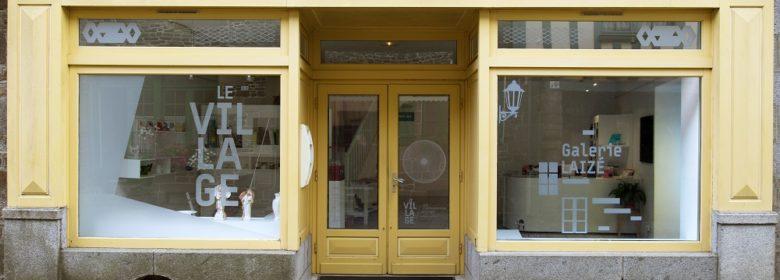 Galerie Laizé © Le Village, site d'expérimentation artisitique