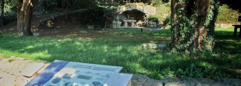 Motte du Châtel à Marcillé-Raoul - Panneau d'interprétation