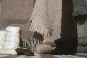 Tissu en laine d'alpaga © Elevage du Châtelet