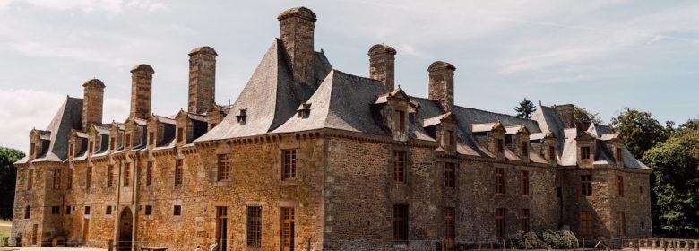 Arrières du Château du Rocher Portail
