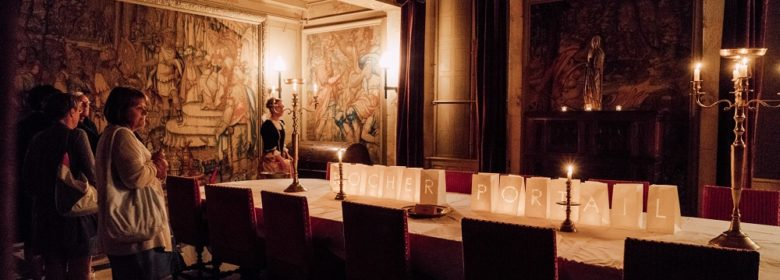 Visite nocturne du château du Rocher Portail