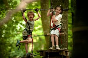 Accrobranche - Parc des Grands Chênes - Bretons Perchés - Forêt de Villecartier