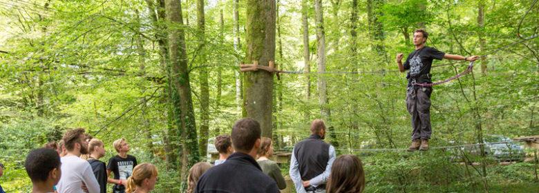 Parc des Grands chênes à Bazouges-la-Perouse