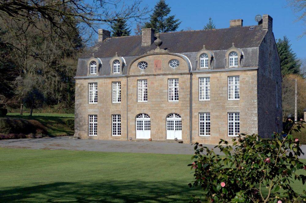Façade château du Tiercent