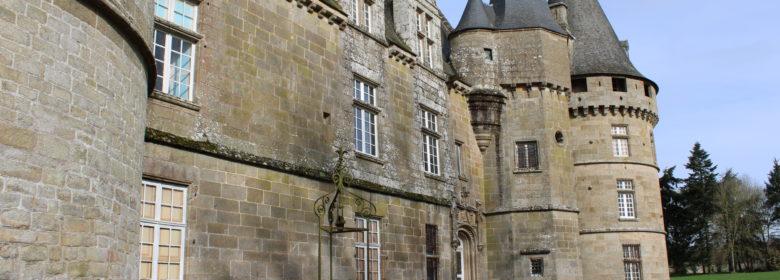 Façade du château de Bonnefontaine - Vue du sud-est