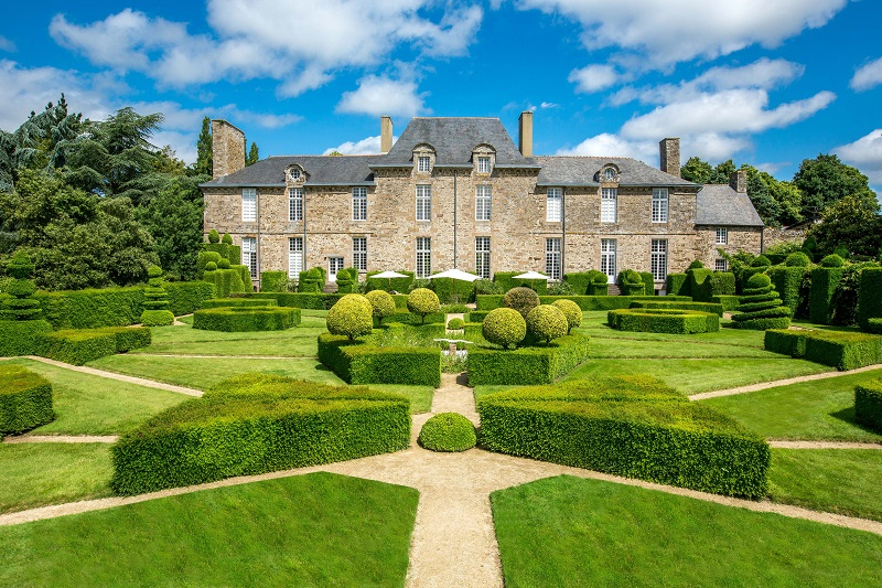 Les Jardins du château de la Ballue à Bazouges-la-Pérouse