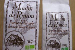 Farine de sarrazin © Moulin de Rimou