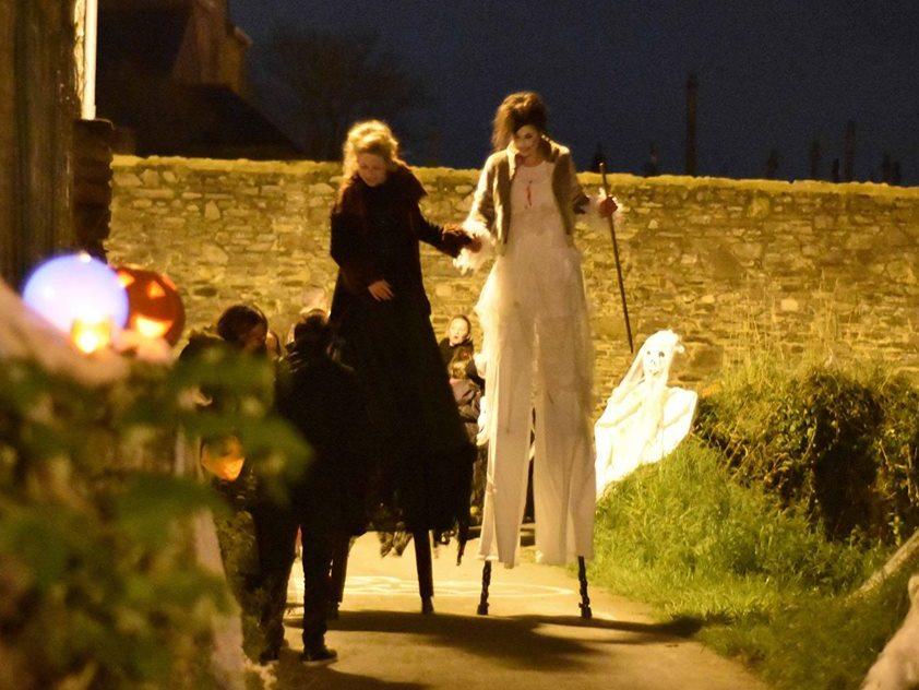 Halloween à Bazouges-la-Pérouse