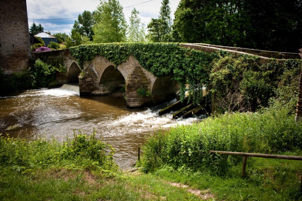 Le Vieux Pont du Couesnon - La Fontenelle