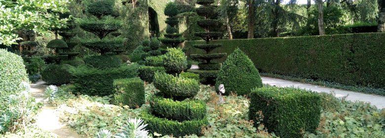 Le jardin mouvementé à la Ballue