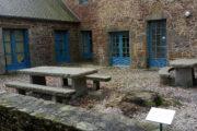 Aire de pique-nique du Jardin de la Motte - Bazouges-la-Pérouse