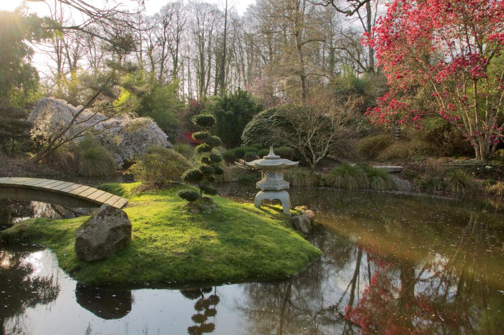Botanical Gardens of Haute Bretagne on Le Châtellier